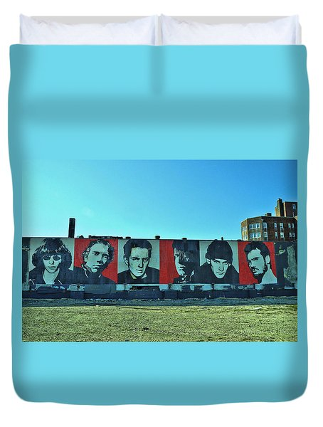 Mount Rush Core 2 Duvet Cover