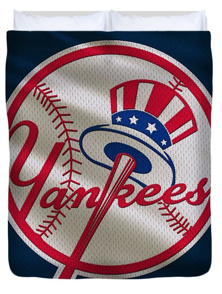 New York Yankees Uniform Duvet Cover