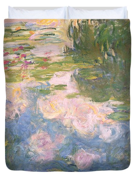 Nympheas Duvet Cover by Claude Monet
