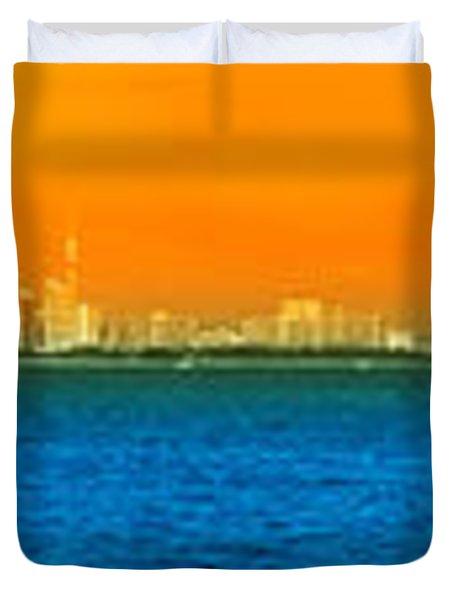 Pattaya Scenic Duvet Cover by Atiketta Sangasaeng