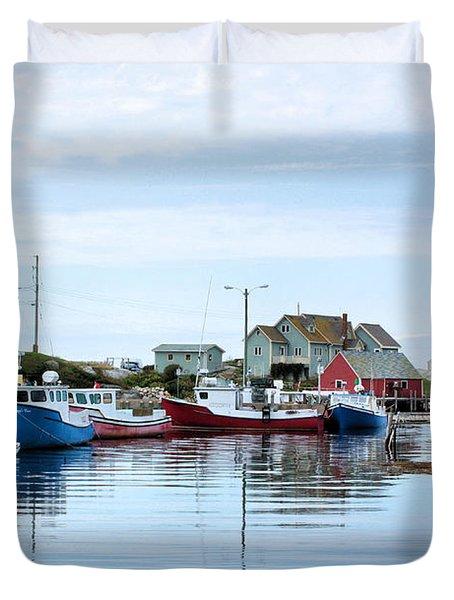 Peggys Cove Duvet Cover by Kristin Elmquist