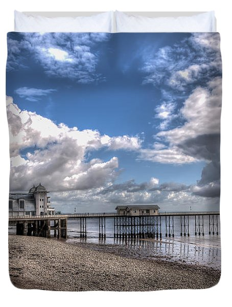 Penarth Pier 3 Duvet Cover