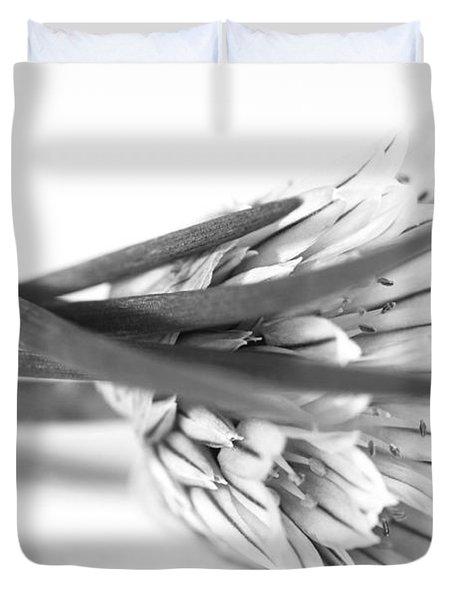 Chive Blossom Duvet Cover