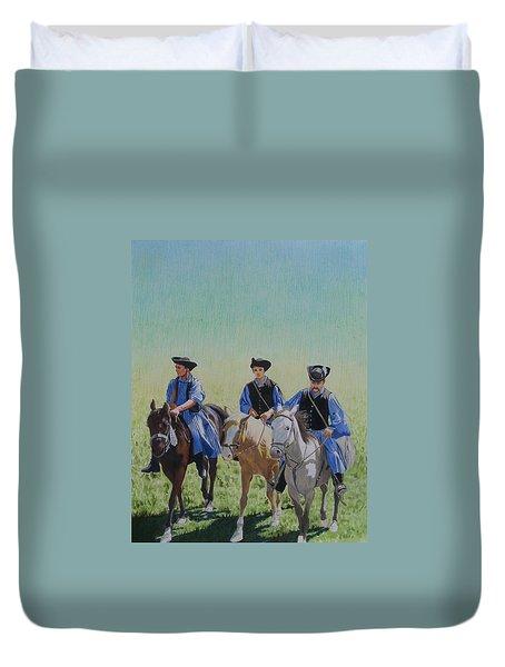 Puszta Cowboys Duvet Cover