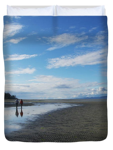 Evening Reflections  Duvet Cover