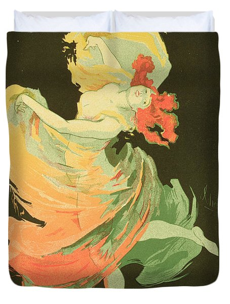 Reproduction Of A Poster Advertising Duvet Cover