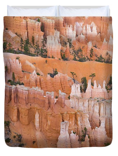 Sandstone Hoodoos Bryce Canyon Duvet Cover