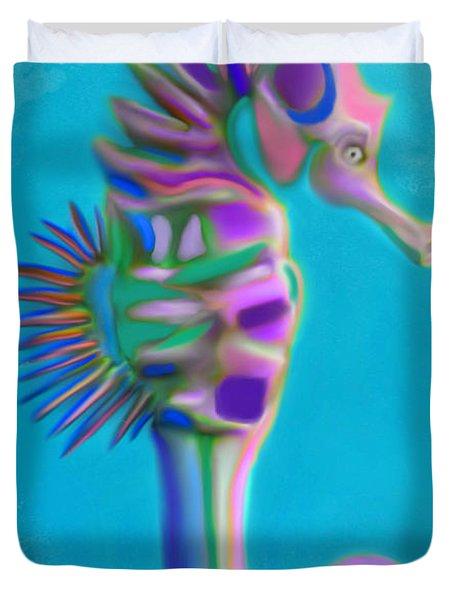 The Pretty Seahorse Duvet Cover