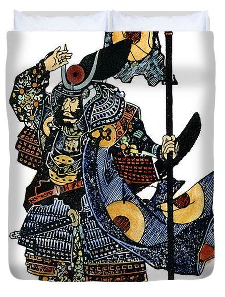 Soldier Samurai Duvet Cover