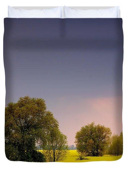 Spring Landscape Duvet Cover by Michal Bednarek