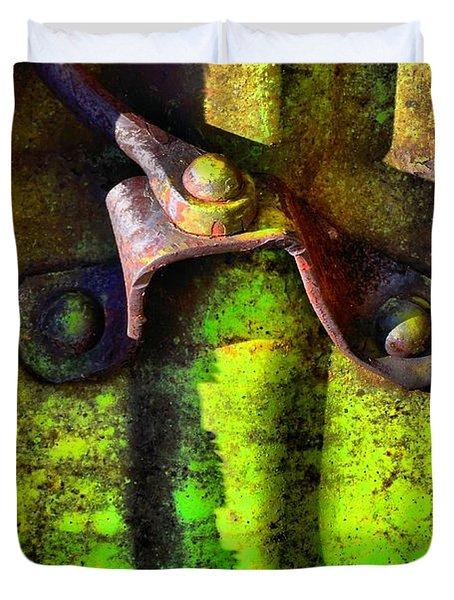 Synapse Duvet Cover by Lauren Leigh Hunter Fine Art Photography