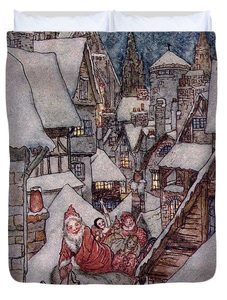 'the Night Before Christmas Duvet Cover