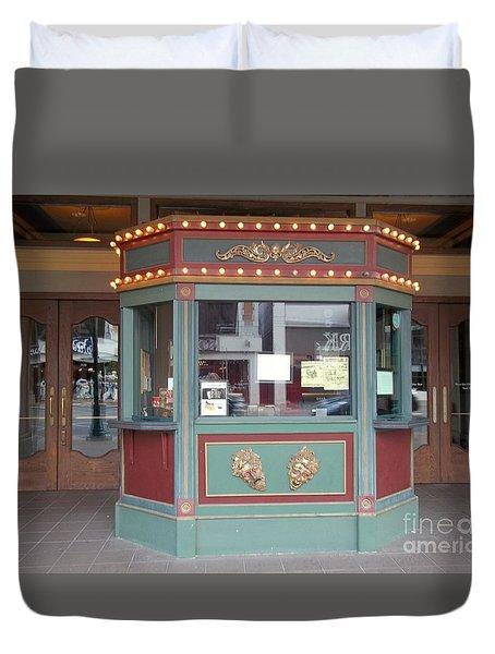 The Tivoli Theatre Duvet Cover by Kelly Awad
