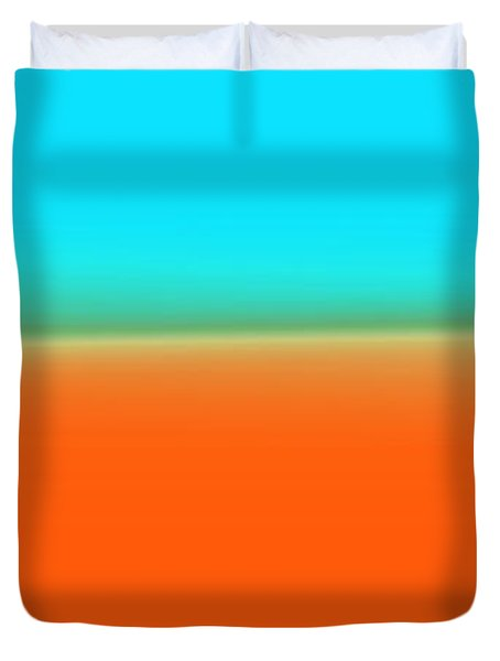 Travelling Through Paradise Duvet Cover by Sir Josef - Social Critic -  Maha Art