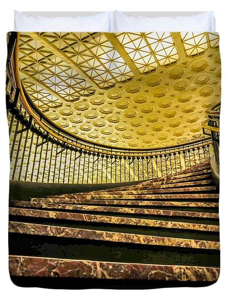 Union Station Washington Dc Duvet Cover