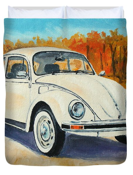 Vw Beetle Duvet Cover