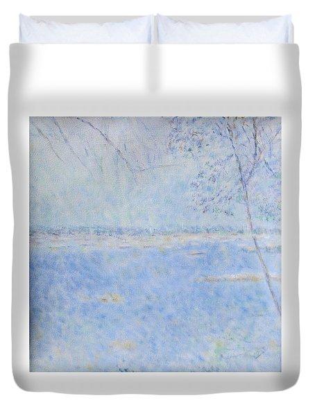 Water Of Les Iles De Lerins France Duvet Cover