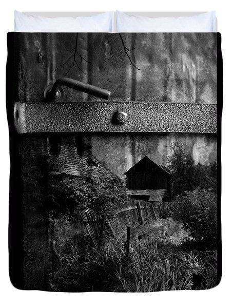The Gate Again  Duvet Cover