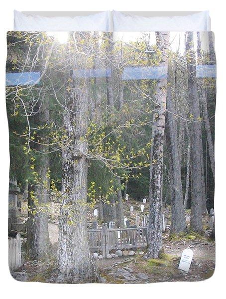 300yr Cemetery Duvet Cover