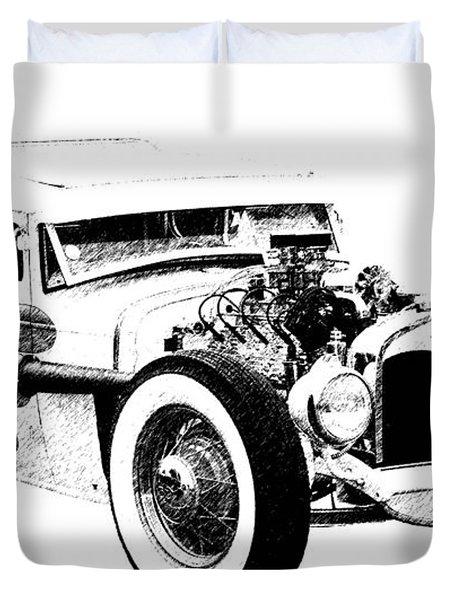 31 Model A Duvet Cover by Guy Whiteley