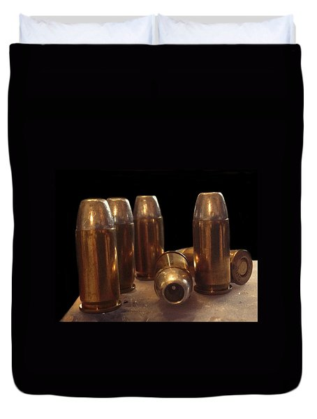 Bullet Art 32 Caliber Bullets 3514 Duvet Cover