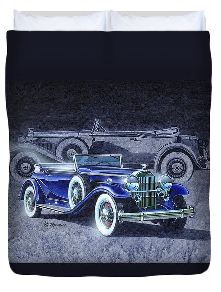 32 Packard Duvet Cover