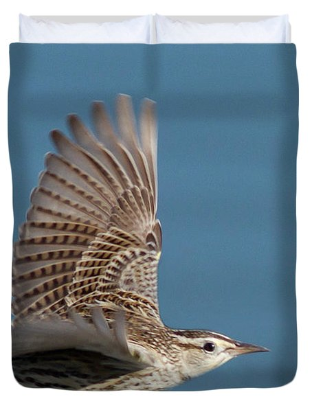 Untitled Duvet Cover by Hal Beral