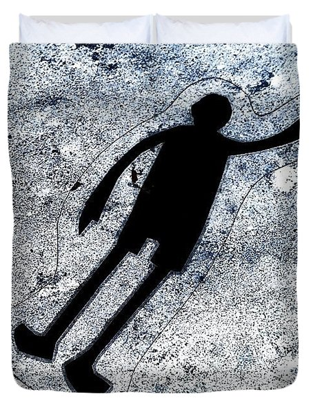 Sticker Duvet Cover by Jason Michael Roust