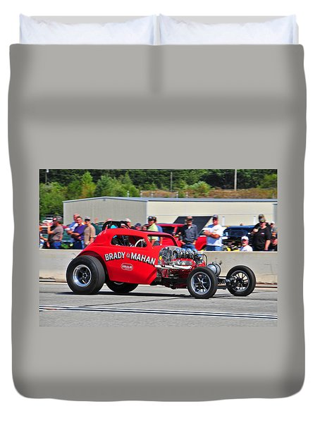 330 Nationals Duvet Cover by Mike Martin