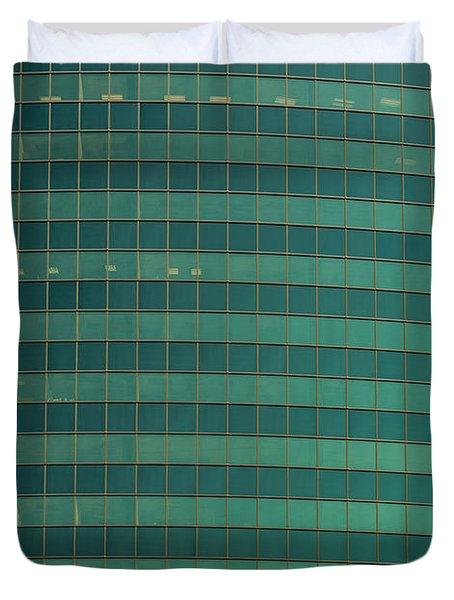 333 W Wacker Building Chicago Duvet Cover by Steve Gadomski