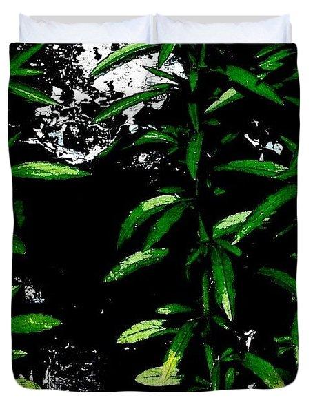 Foliage  Duvet Cover by Jason Michael Roust