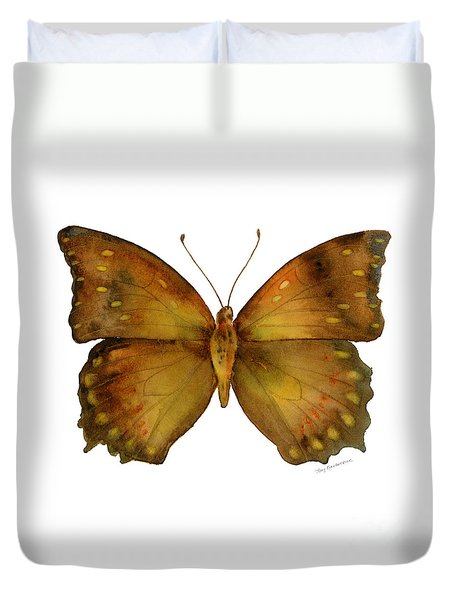 34 Charaxes Butterfly Duvet Cover by Amy Kirkpatrick