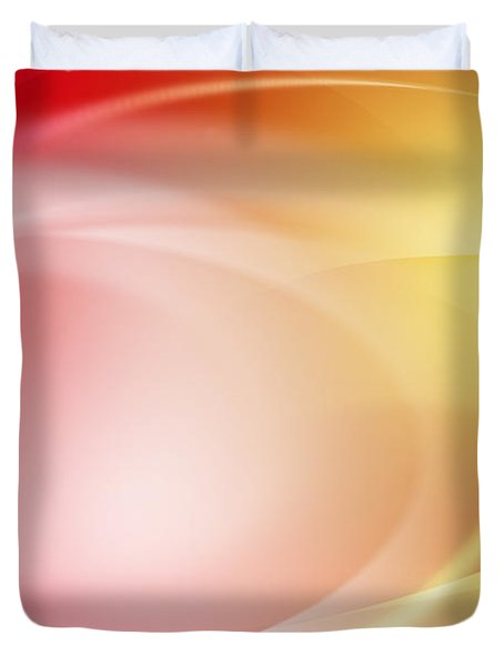 Abstract Background. Duvet Cover by Les Cunliffe