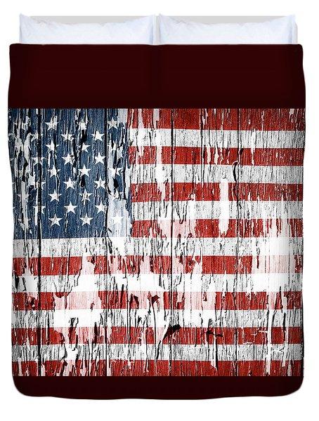 American Flag 49 Duvet Cover