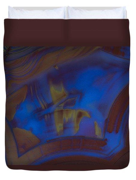 Blue Rock Design Duvet Cover
