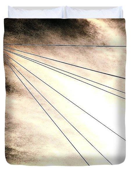 Dramatic Sky 2 Duvet Cover by Jason Michael Roust