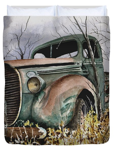 39 Ford Truck Duvet Cover
