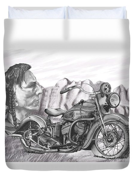 39 Scout Duvet Cover by Terry Frederick