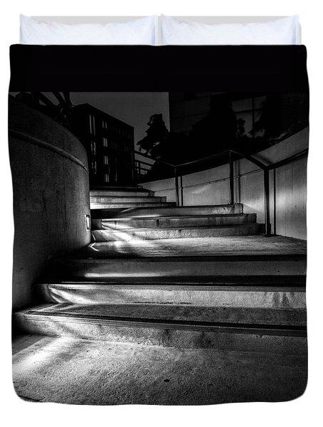3am Portland Duvet Cover by Bob Orsillo