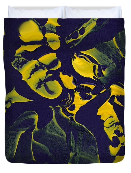 Abstract 62 Duvet Cover by J D Owen
