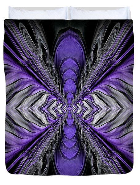 Abstract 73 Duvet Cover by J D Owen