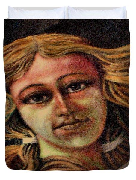 Aphrodite-venus Duvet Cover by Genio GgXpress