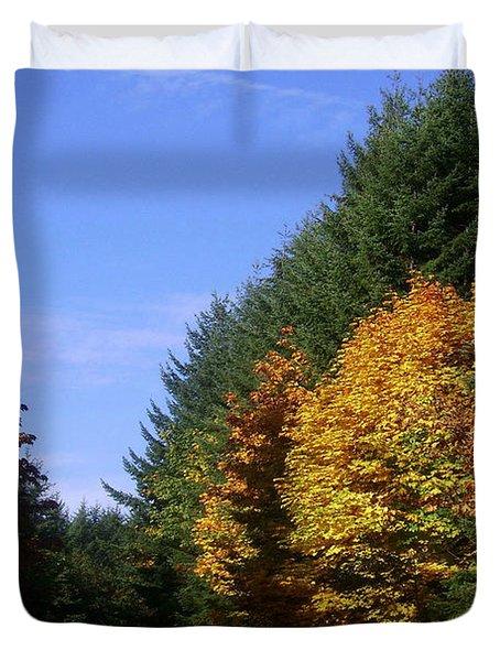 Autumn 9 Duvet Cover by J D Owen