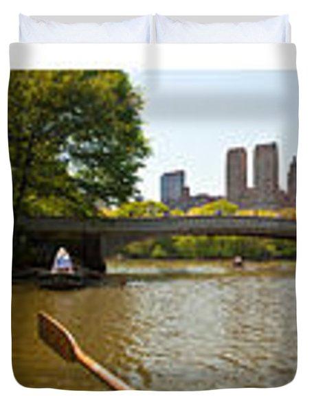 Central Park Afternoon Duvet Cover by Madeline Ellis