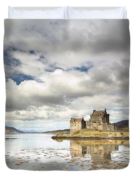 Eilean Donan Castle Duvet Cover by Grant Glendinning