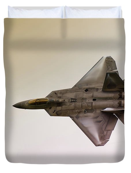 F-22 Raptor Duvet Cover