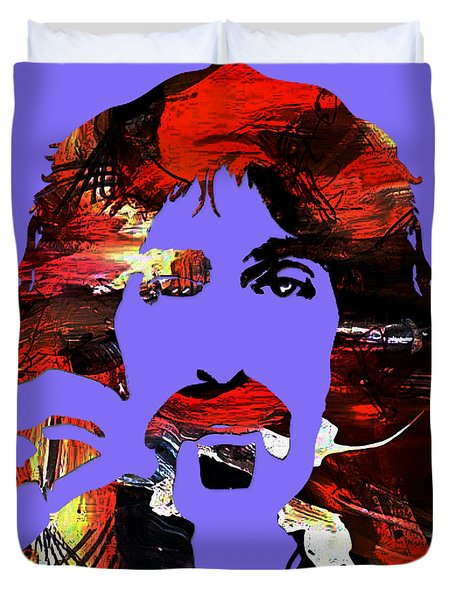 Frank Zappa Collection Duvet Cover