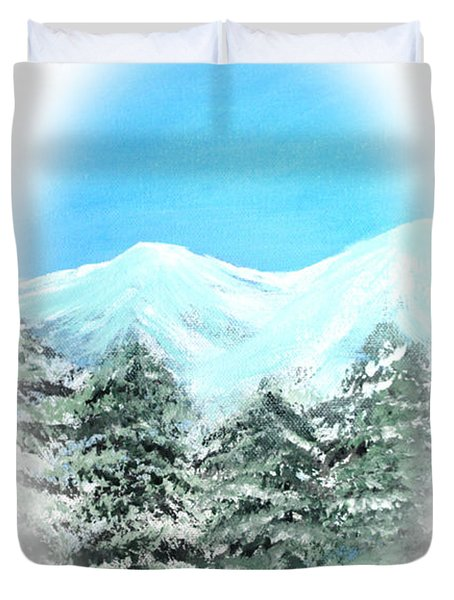 Happy Holidays. Best Christmas Gift Duvet Cover