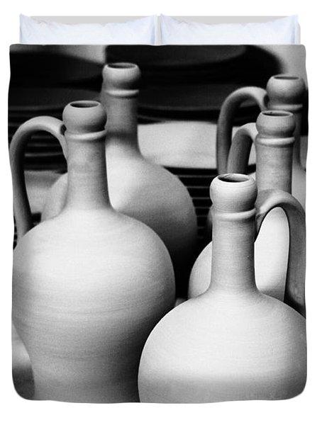 Pottery Duvet Cover by Gaspar Avila