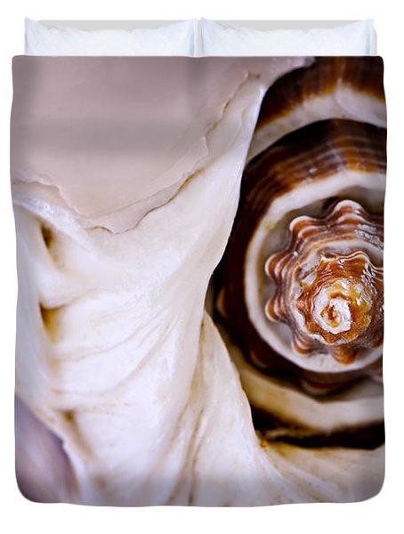 Seashell Detail Duvet Cover by Elena Elisseeva
